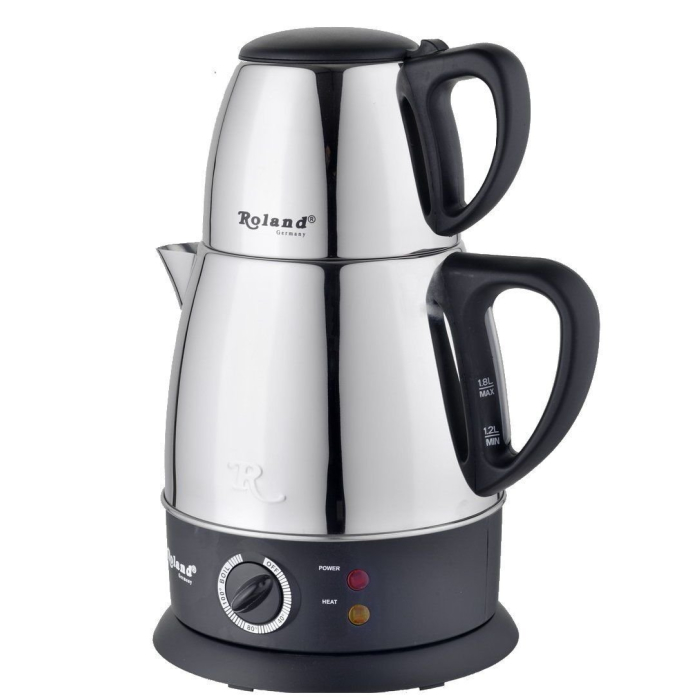 Schäfer Turkish Tea Maker | Electrical Tea Maker and Kettle with 1,8 L Kettle and 0,7 L Teapot