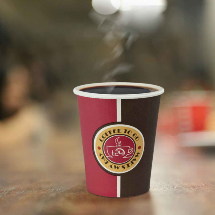ecolle 1000 Coffee TO GO Cup 200 mL Coffeecup Papercup
