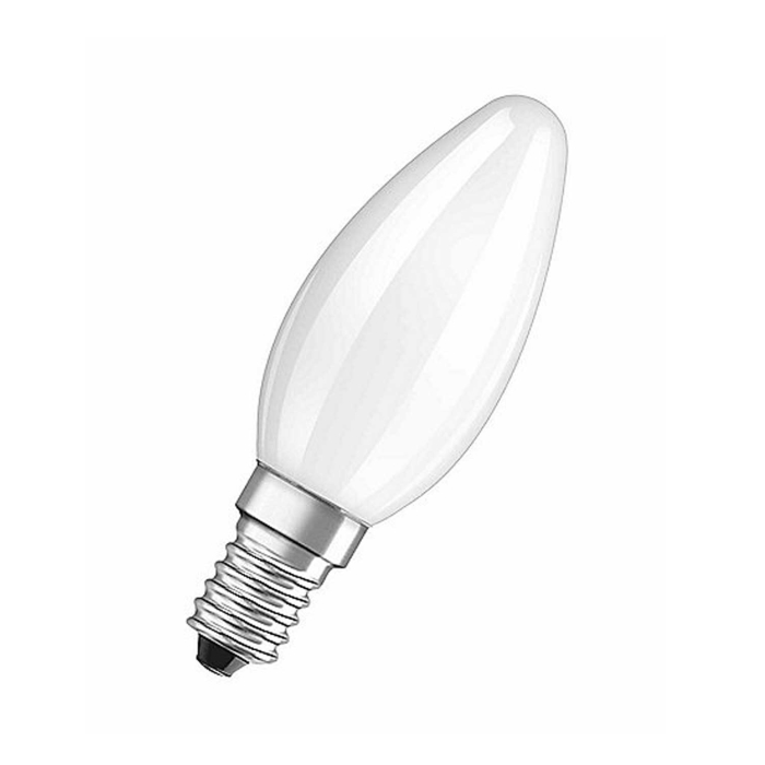 Philips 10er Glühlampen Set in Kerzenform 40W E14 Matt B35