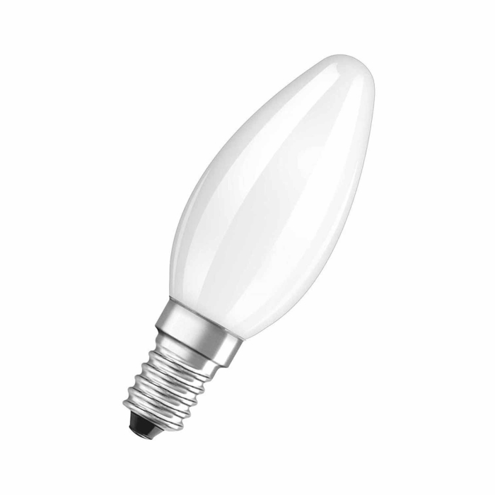 Philips 10er Glühlampen Set in Kerzenform 60W E14 Matt B35
