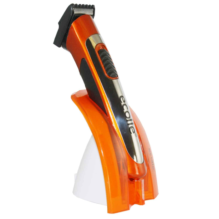 ecolle Profi Akku Trimmer mit ergonomischem Design orange