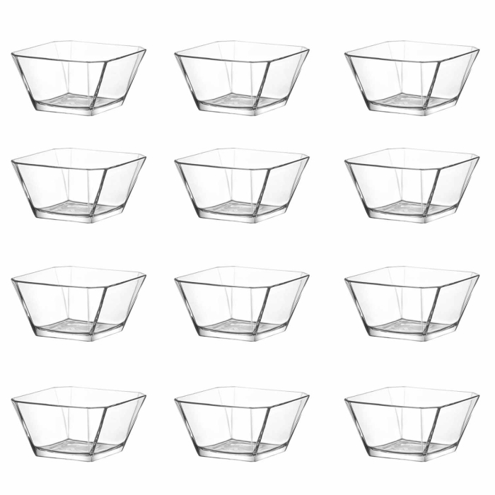LAV 12 teiliges Glasschalen-Set Serie KAREN 300 ml