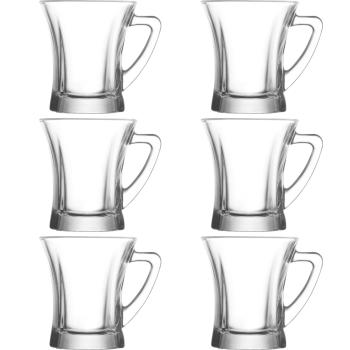 """LAV 6 teiliges Gläser-Set mit Henkel """"Serie..."""