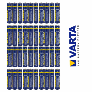 Varta Industrial LR03 AAA Micro Batterien 40er Set