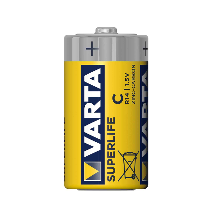 Varta Superlife R14 Baby C Batterien, 20er Set
