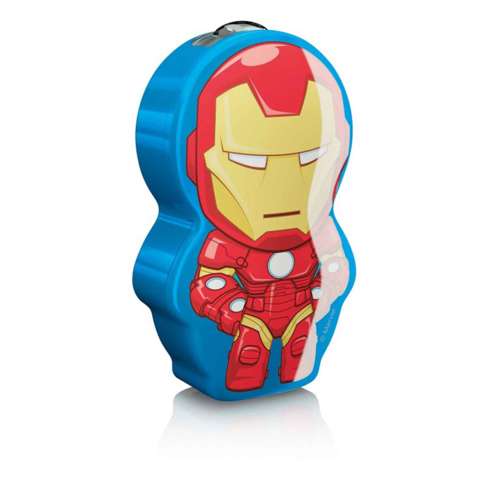 Philips Marvel Iron Man LED Taschenlampe Warmweiß