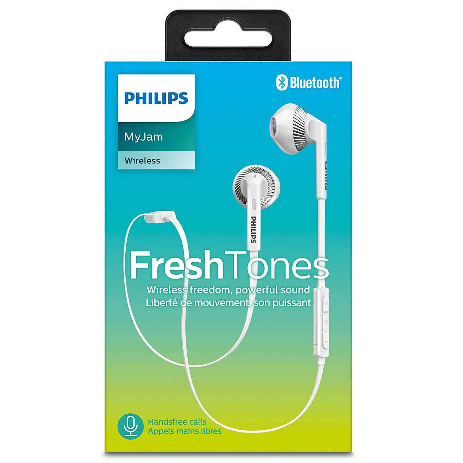 philips my jam bluetooth in ear kopfh rer weiss. Black Bedroom Furniture Sets. Home Design Ideas