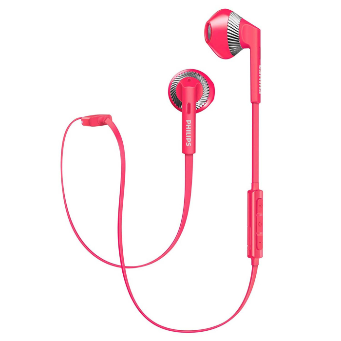 Philips My Jam SHB5250PK/00 Bluetooth In-Ear Kopfhörer pink