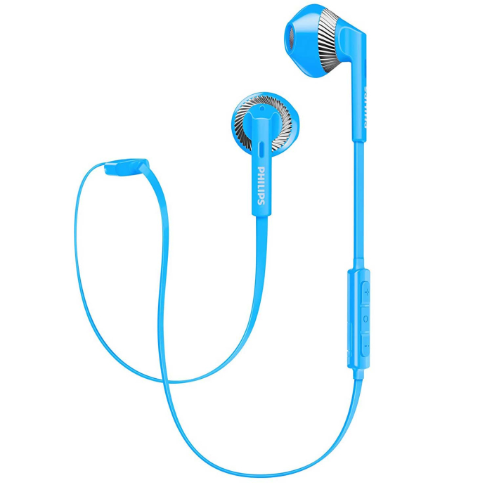 Philips My Jam SHB5250BL/00 Bluetooth In-Ear Kopfhörer blau