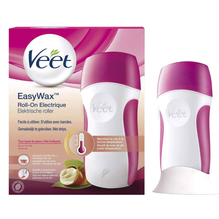 Veet EasyWax Elektrisches Warmwachs Roll-On-System für...