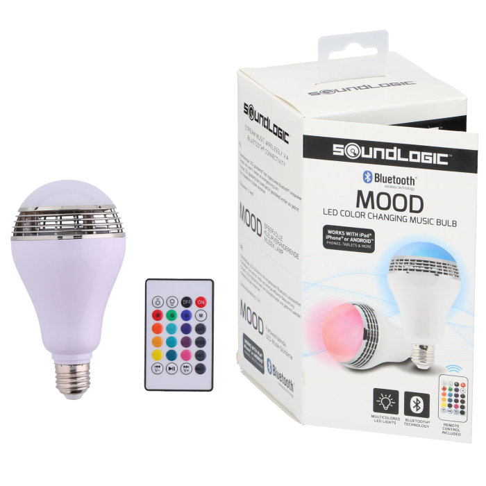Soundlogic smart LED Lampe Lautsprecher