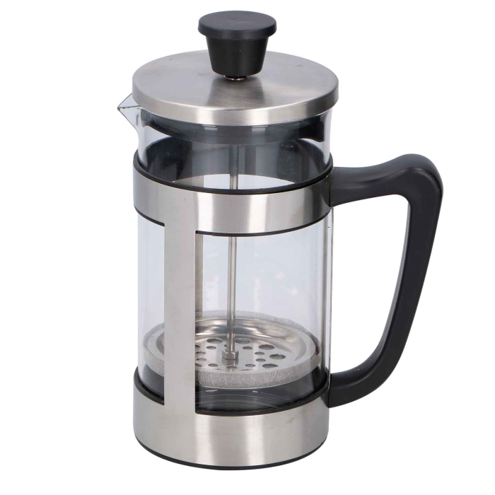 Alpina Edelstahl French Coffee Press 1 Liter, bis zu 8...
