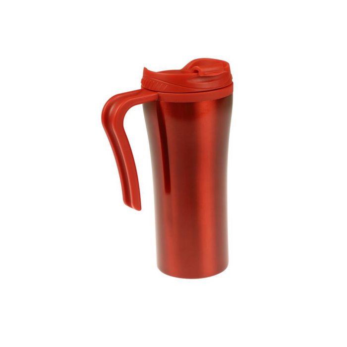 Curver Savana Mug Isolier- Thermosbecher Edelstahl, rot,...