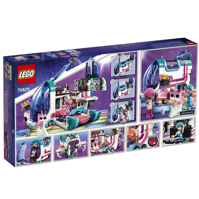 THE LEGO MOVIE 2 70828 Pop Up Party Bus, inkl. Batterien