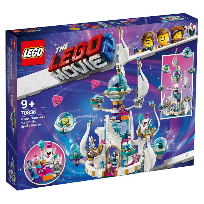 THE LEGO MOVIE 2 70838 Königin Wasimma Si Willis gar...