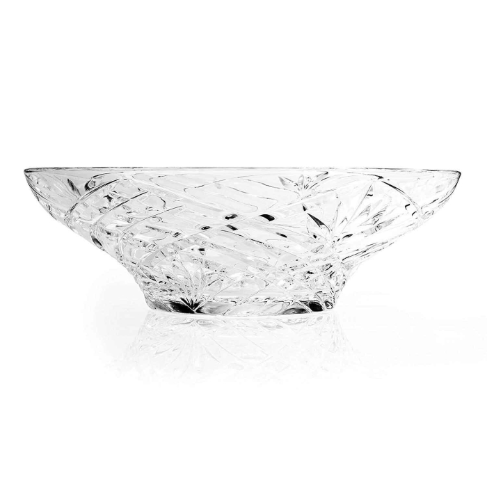 RCR Kristall- Obst- Glasschale Melodia, 30,5 x 12 cm