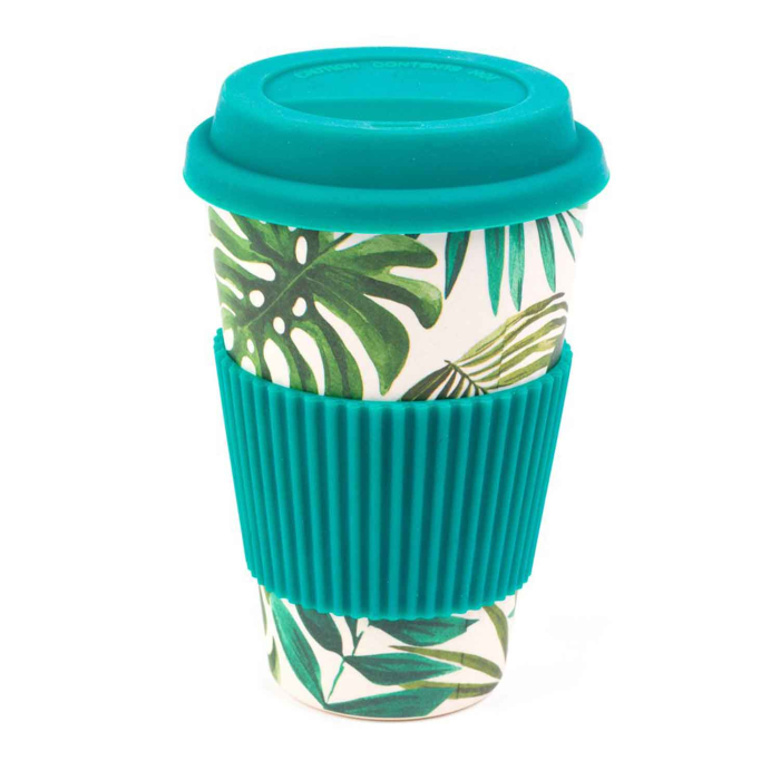 Cambridge Eco Reisebecher Bambus 400 ml, Polynesia