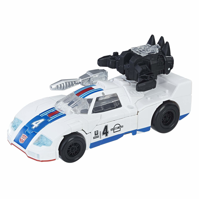 Hasbro Transformers Generations Figur: Autobot Jazz Power of the Primes Deluxe Class
