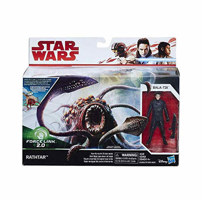 Hasbro Star Wars Force Link 2.0 Rathtar&Bala-Tik Figur...