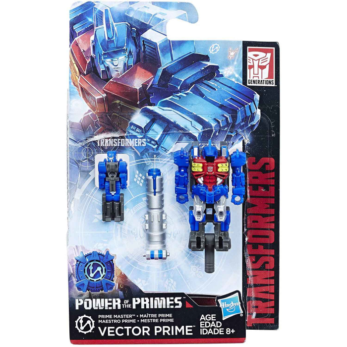 Hasbro Transformers Generations Power of the Primes Vector Prime Prime Master
