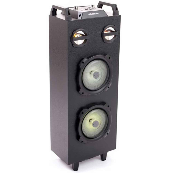 XXL Bluetooth LED Party Speaker, schwarz