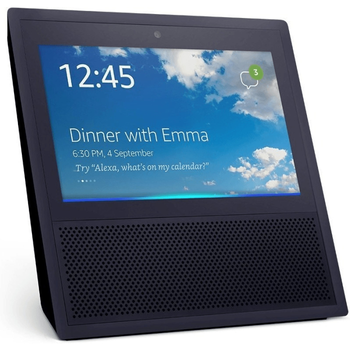 Amazon Echo Show Schwarz, Amazon Alexa, IFTTT, Bluetooth
