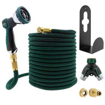 T24 Premium 30m Flexibler Multifunktion Gartenschlauch,...
