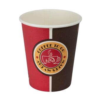 T24 Premium Coffee Getränke TO GO Pappbecher 200ml