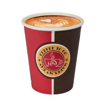 T24 Premium Coffee Getränke TO GO Pappbecher 200ml...