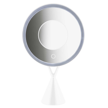T24 LED Kosmetikspiegel mit 5-fach Lupe 30° kippbar,...