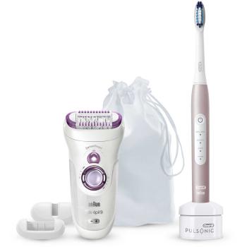 Braun Oral-B Beauty-Box Oral-B Pulsonic + Braun Silk...