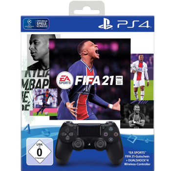 PlayStation 4 FIFA 21 + Dualshock Wireless-Controller,...