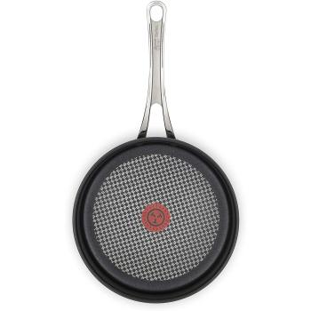 Tefal Jamie Oliver Bratpfanne harteloxiert 24 cm, Titanium