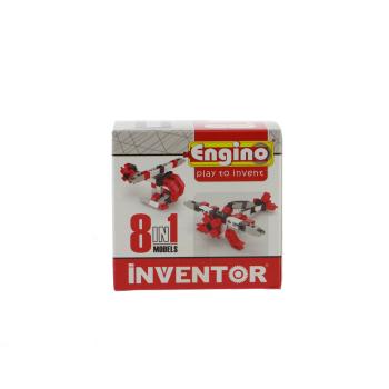Engino Inventor 0840 8in1 Luftfahrmodelle, Schnappverbindung