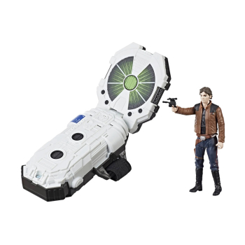 Hasbro Star Wars E0322100 Han Solo Force Link 2.0 Starter...
