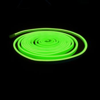 Ecolle Neon LED-Streifen, 2,5 m grünes Licht, PVC...