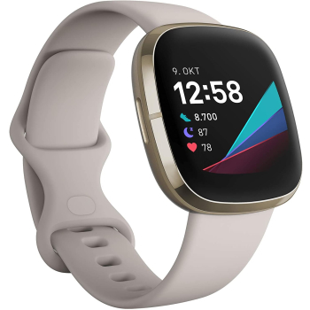 FITBIT Sense Smartwatch Stainless Steel Silikon, S, L,...