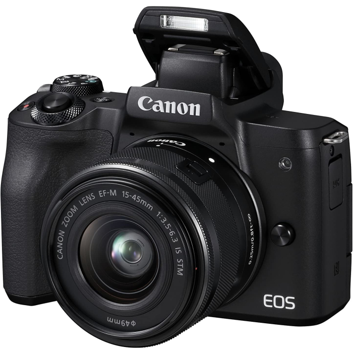 Canon EOS M50 Systemkamera, DIGIC Bildprozessor, 4K-Video