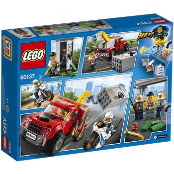 LEGO City Abschleppwagen auf Abwegen, drei Minifiguren