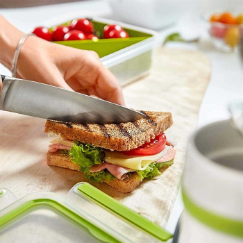Emsa, Clip & Go Sandwich, Mit Sandwich Einsatz, 100%...