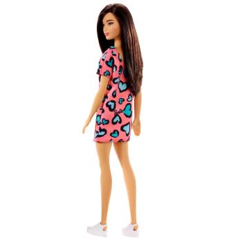 Mattel Barbie-Puppe mit einem Kleid und weißen Schuhen