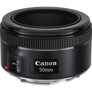 Canon EF 50mm f/1.8 STM Objektiv, 69 x 39 mm, Autofokus