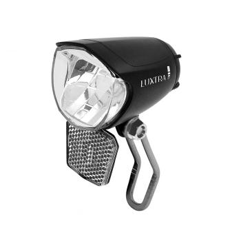 LUXTRA Fahrrad Frontlicht für Nabendynamo 70 Lux...