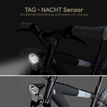 """LUXTRA Fahrrad Frontlicht für Nabendynamo 70 Lux """"EXTRA Bright"""""""