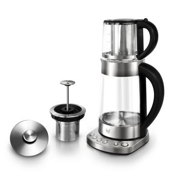 Impolio Glas Wasserkocher mit Temperatureinstellung ,...
