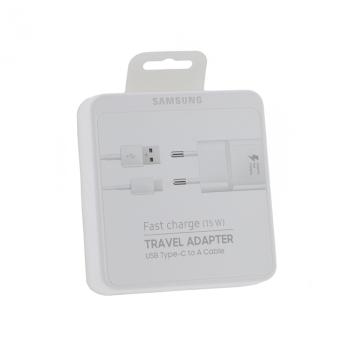 Original Samsung Schnelllade-Set, 15W, Weiß