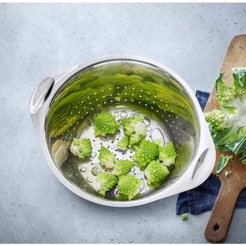 WMF Gourmet Sieb Edelstahl 24 cm Salatseiher aus Edelstahl